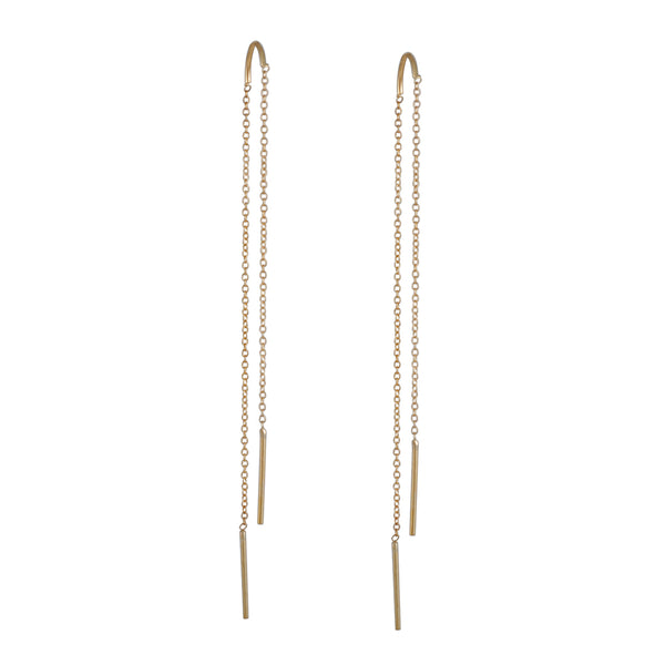 K/ller - Arch Threader Earrings