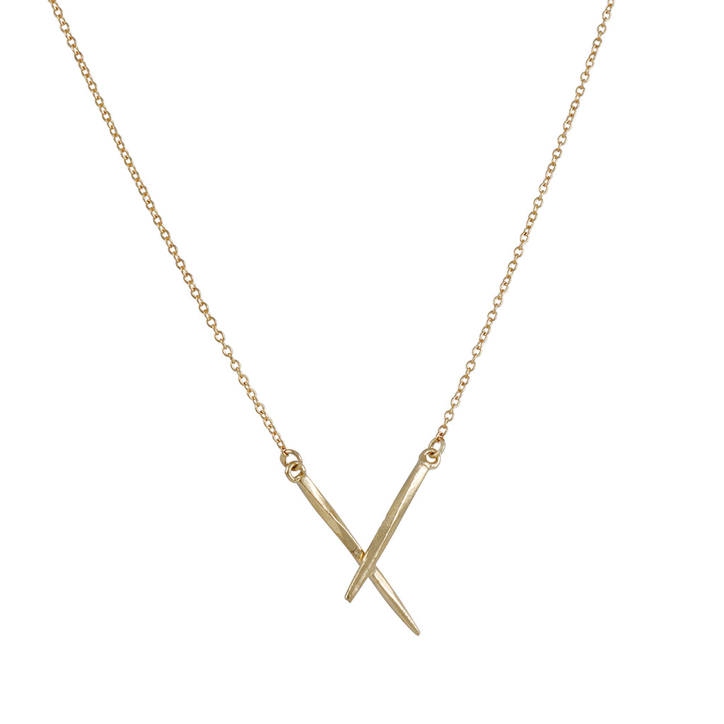 K/ller - Double Spike Necklace