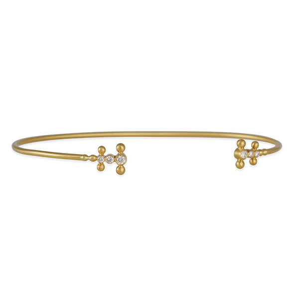 Kothari - Diamond Double Jax Cuff