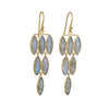 Kothari - Labradorite Chandelier Earrings