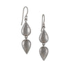 KOTHARI - Reflection Droplet Earrings in Sterling Silver