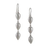KOTHARI - Upstream Droplet Earrings in Sterling Silver