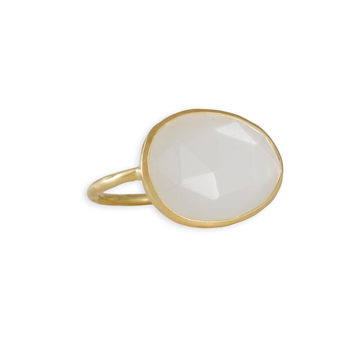 Kothari - Moonstone Slice Ring