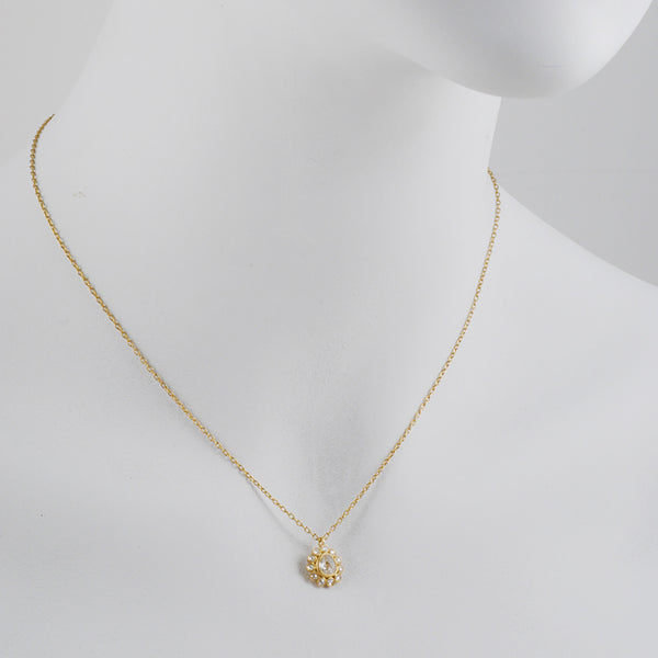 Kothari - Diamond Egg Pendant Necklace