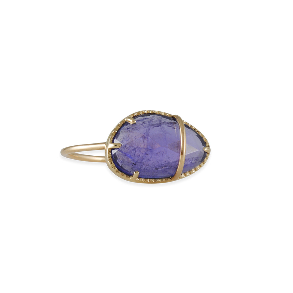LIO & LINN - One of a Kind Tanzanite Ring, Size 7
