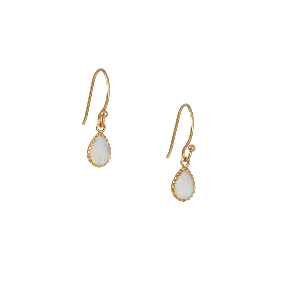 LORI MCLEAN - Opal Teardrop Earrings