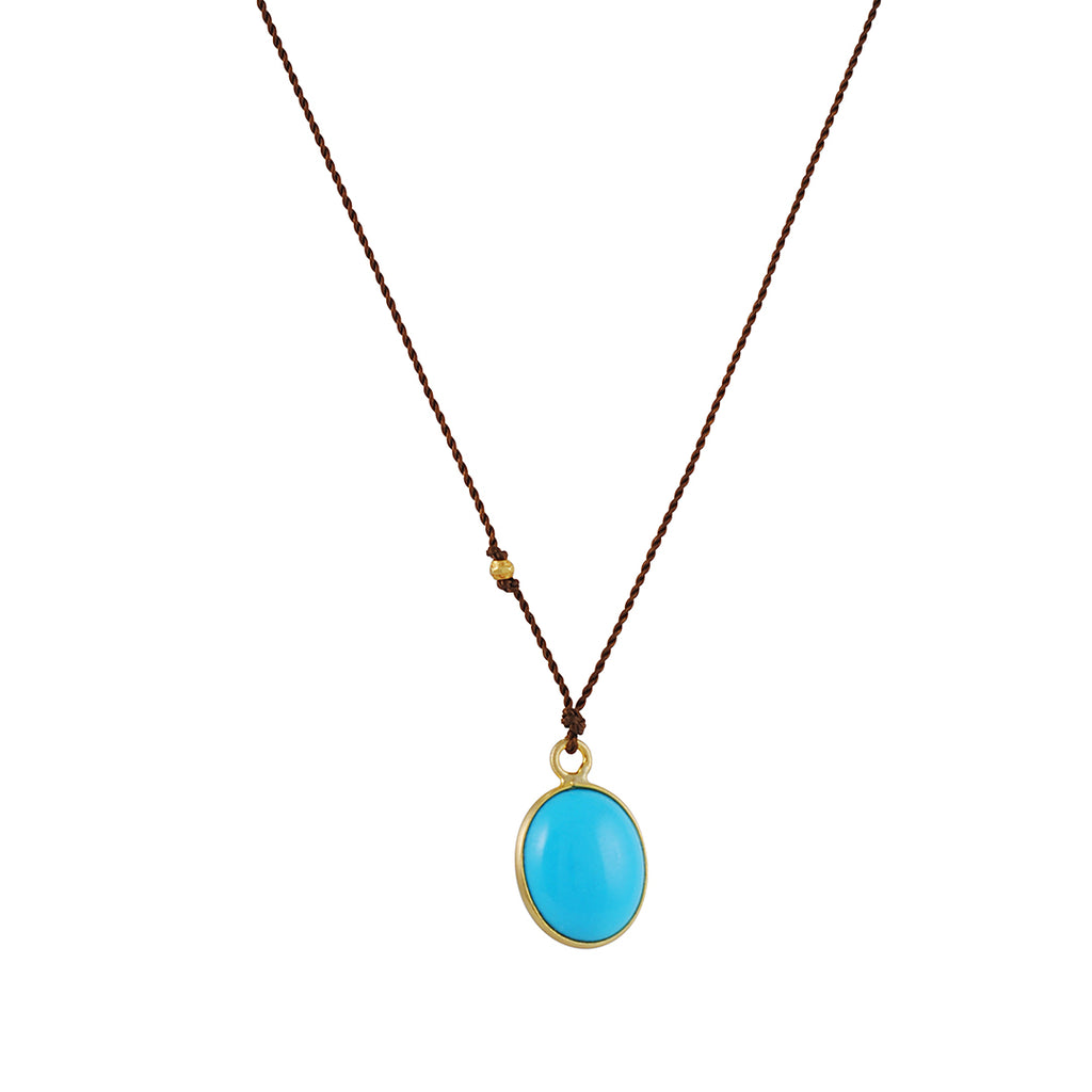 Margaret Solow - Turquoise Necklace