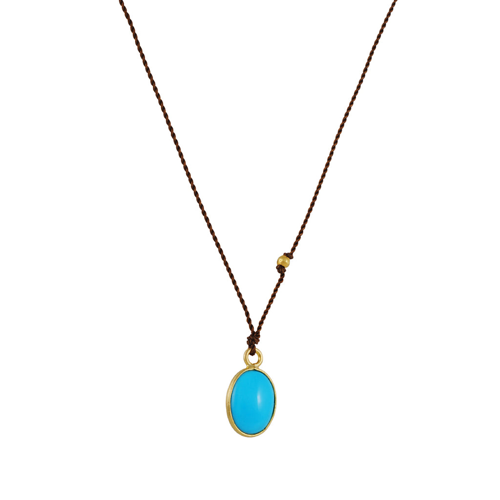 Margaret Solow - Small Turquoise Necklace