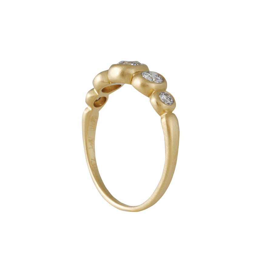 MARIAN MAURER- Large Kima Five Stone Ring