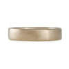 MARIAN MAURER- 5.3 MM Rounded Square Band in 18K White Gold