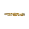 MARIAN MAURER- Diamond Laurie Band in 18K Gold