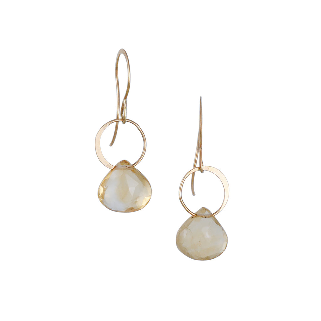 MELISSA JOY MANNING - Citrine Drop Earring