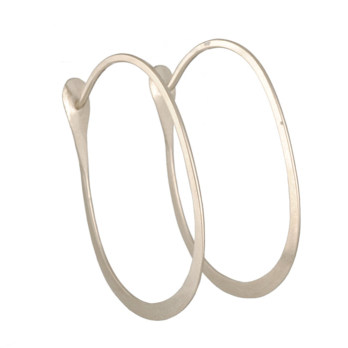 MELISSA JOY MANNING - Large Oval Hoops
