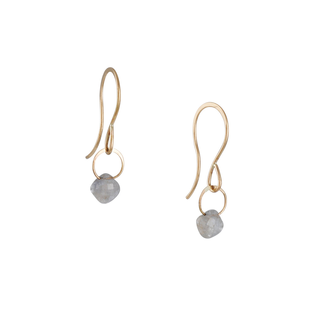 Melissa Joy Manning - Light Sapphire Earrings
