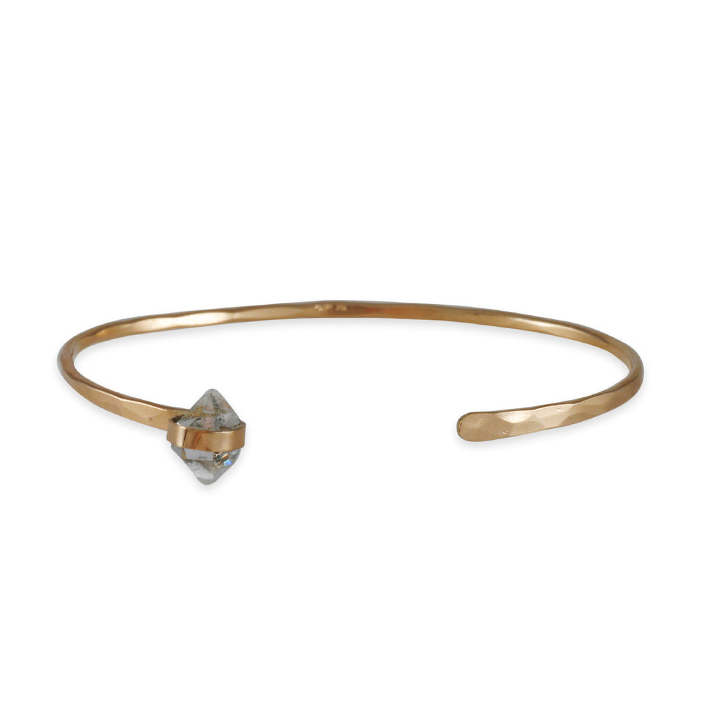 Melissa Joy Manning - Wrapped Herkimer Quartz Cuff