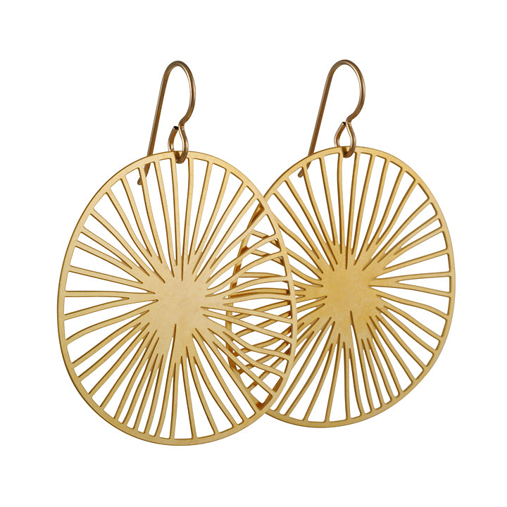 DAPHNE OLIVE - Radius Earrings in Gold