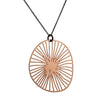 DAPHNE OLIVE - Radius Pendant in Rose Gold