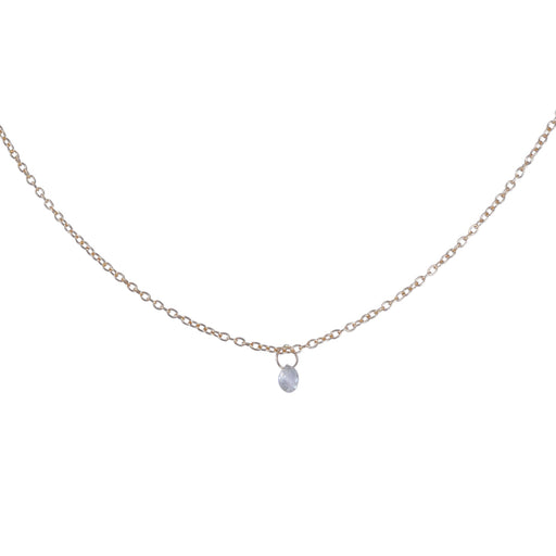 992df0d8d Rebecca Overmann - White Diamond Briolette Necklace ...