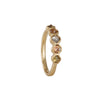 Rebecca Overmann - Inline Square Rustic Diamond Ring