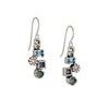 PATRICIA LOCKE - Beekman Drop Earrings, Silver Plated With Zephyr Crystals