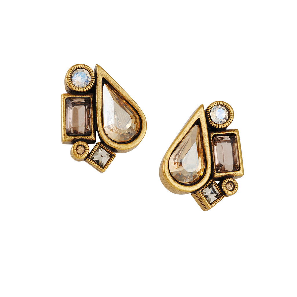 Patricia Locke - Pear Clip-On Earrings