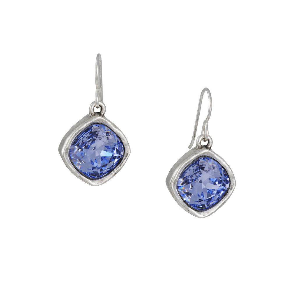 Patricia Locke - Lavender Hailstone Drop Earrings