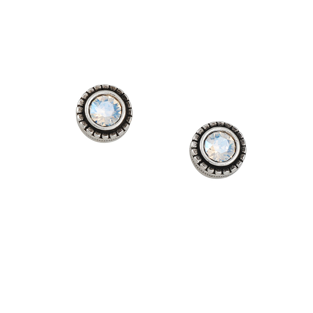 PATRICIA LOCKE - Indie Sugar Crystal Post Earrings