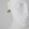 PATRICIA LOCKE - Sophia Post Earrings, Gold Plated With Champagne Crystals