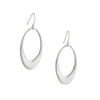 PHILIPPA ROBERTS - Large Open Oval Earrings in Sterling Silver