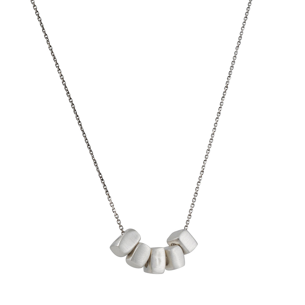 Philippa Roberts - Necklace with Five Rectangular Pendants