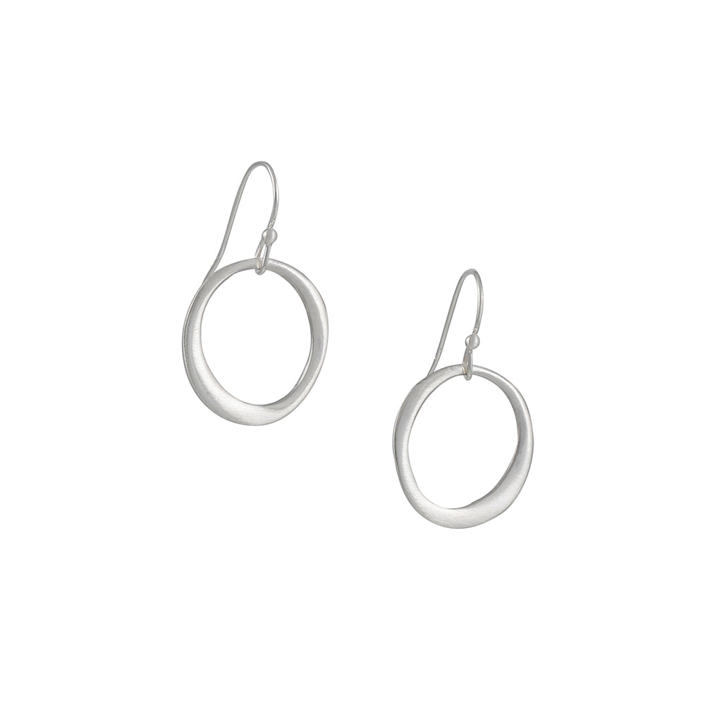 Philippa Roberts - Organic Open Circle Earrings