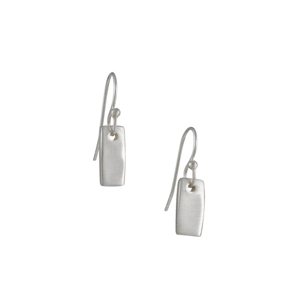 Philippa Roberts - Tab Earrings in Sterling Silver