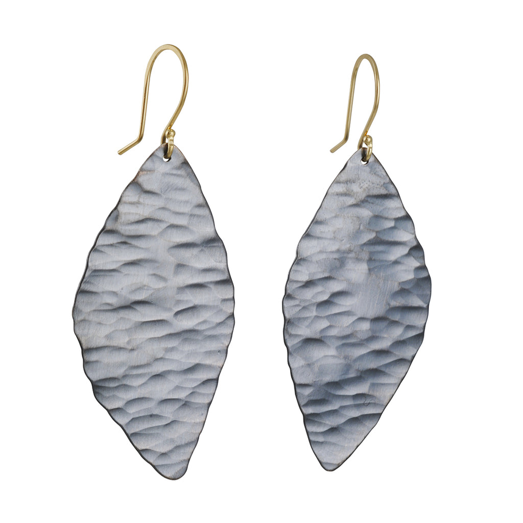 Sarah McGuire - Ridged Petal Earrings