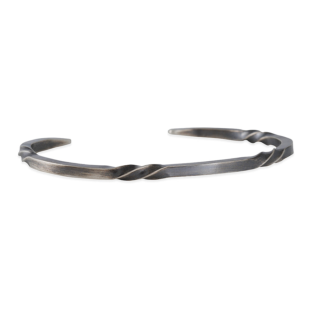 Sarah McGuire - Thin Bias Twist Cuff
