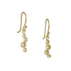 SARAH RICHARDSON - Ripple Pod Earrings in Gold Vermeil