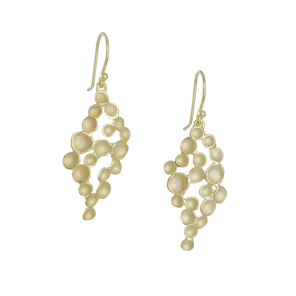 Sarah Richardson - Marquise Champagne Earrings in Vermeil