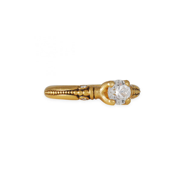 SALE - Serpentine Engagement Ring