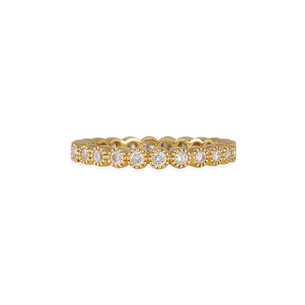 SETHI COUTURE BRIDAL- Bezel Set Diamond Eternity Band