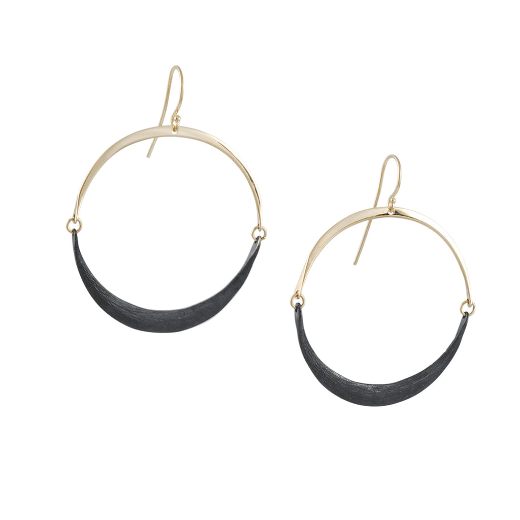 Shaesby - Small Isla Hoops