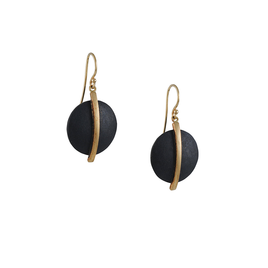 Shaesby - Disc Earrings