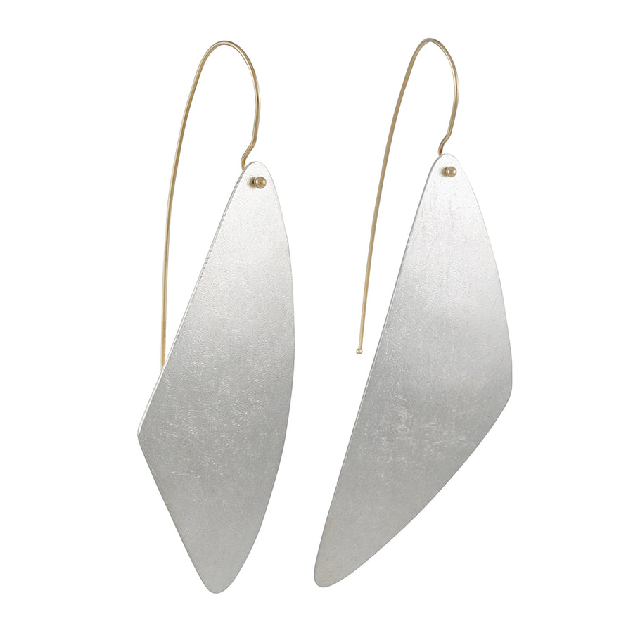 Shaesby - Elongated Triangle Earrings