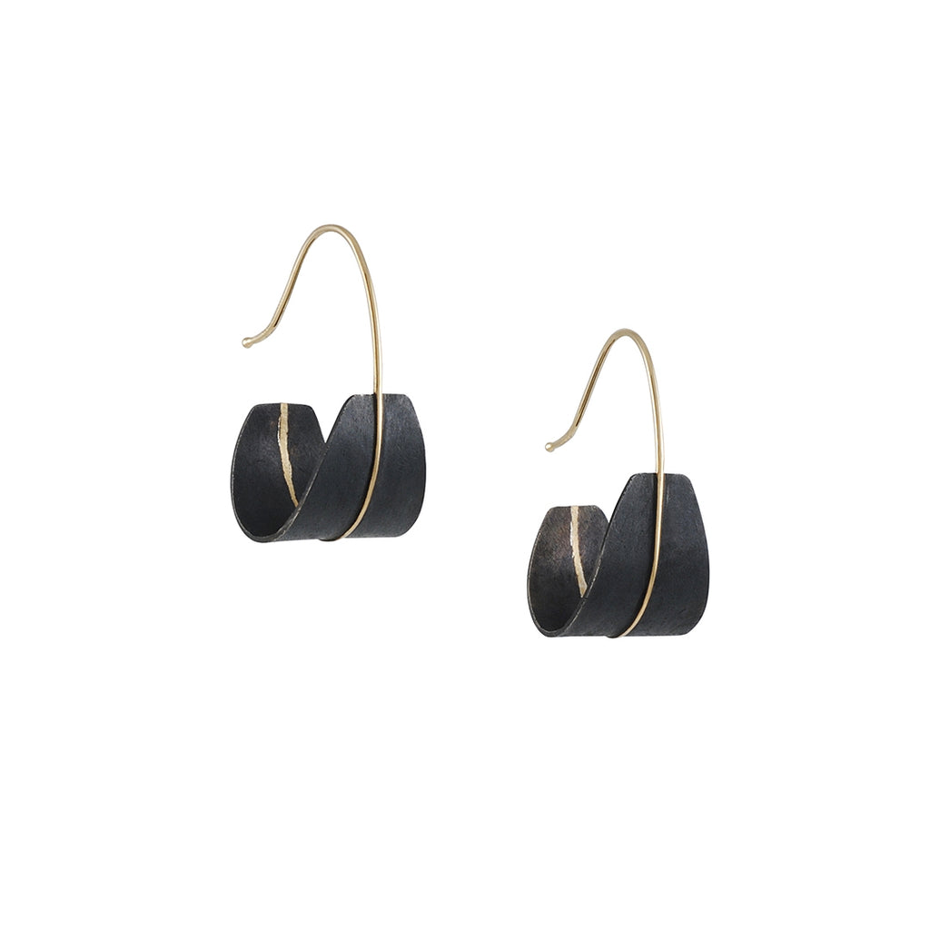 Shaesby - Small Shield Earrings