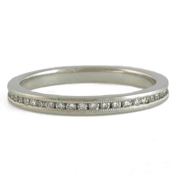 SHOLDT DESIGN- Channel Set Diamond Eternity Band