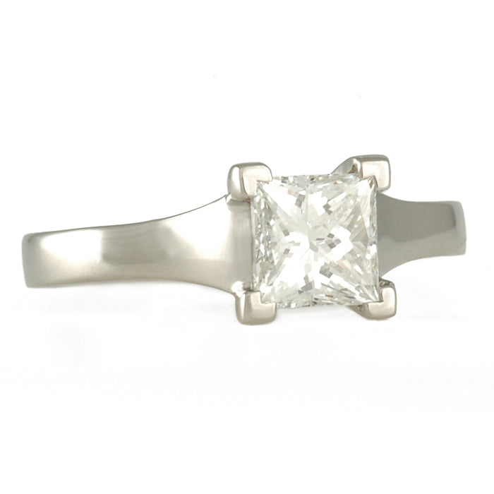 SHOLDT DESIGN- Princess Cut Solitaire
