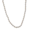CHRISTINA STANKARD - Oval White Pearl Necklace