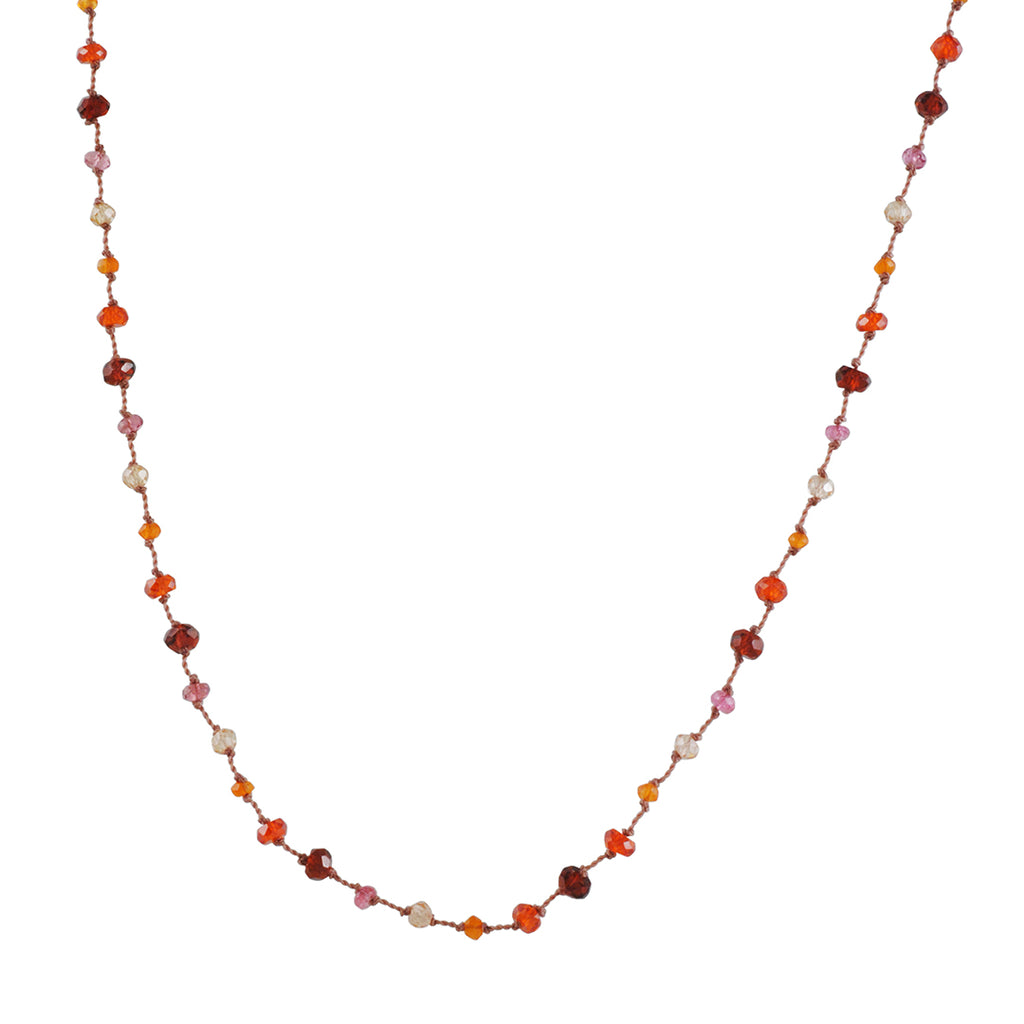 CHRISTINA STANKARD - Carnelian Mix Necklace