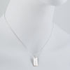 CP Collection - Engravable Rectangle Pendant