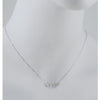 SUZANNE KALAN - Chalcedony and Diamond Bar Necklace in White Gold