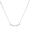 Suzanne Kalan - White Topaz Baguette Necklace