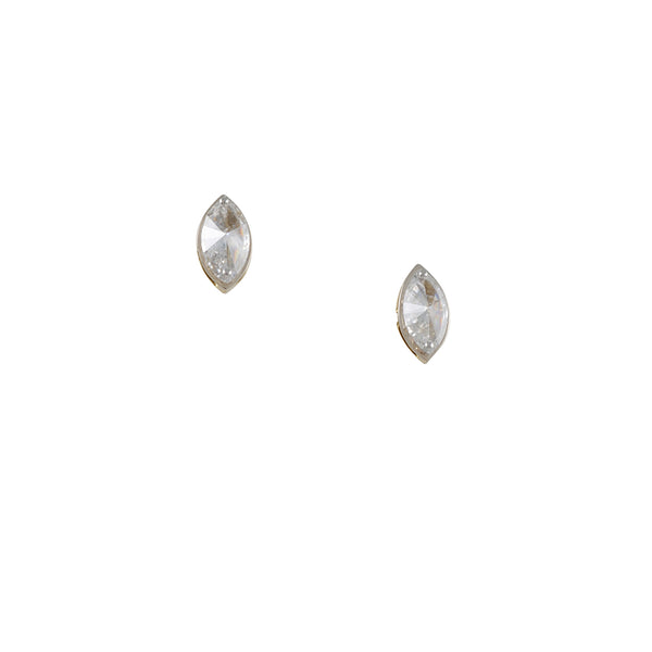 TAP by Todd Pownell - Marquise Diamond Post Earrings